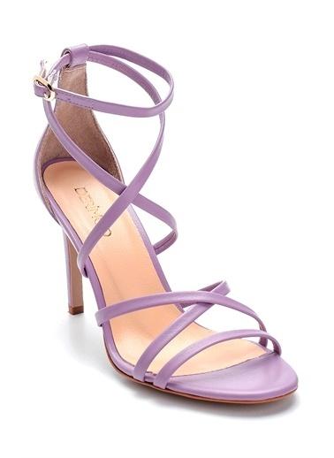 Derimod Kadın Sandalet (06233-12) Casual Lila